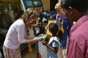 Návštěva na dálku adoptovaných dětí - březen 2013