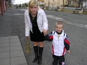 S maminkou Julkou