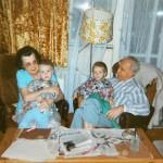 Tomášovi rodiče a děti