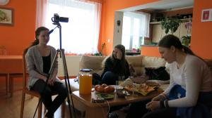 natáčení u Zámečníků