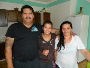 Olahovi s dcerou Sárou