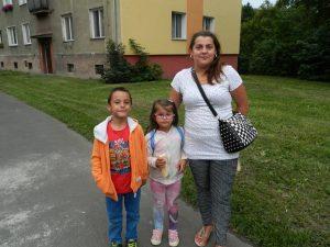 Petra s dětmi