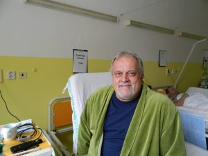 v nemocnici