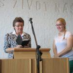 Hanka s Věrkou Grygarovou
