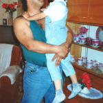 Ernest se synem Honzou