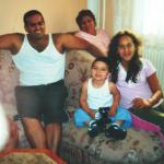 Věrka se synem a vnoučaty