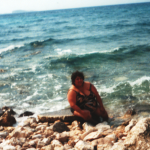 Věrka u moře