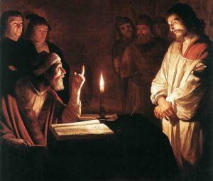 Geritt van Honhorst, 1590: Ježíš před Kaifášem