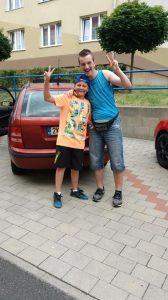 Míša s Tomáškem